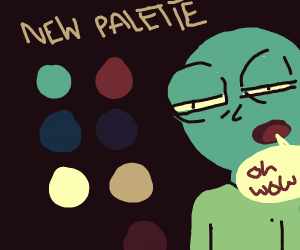 Wow, look at this new palette!