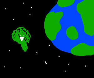 Broccoli has left our world