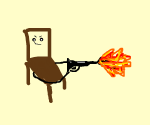 Can your chair do this?(Pewdiepie reference)