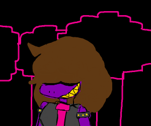 Susie from Deltarune