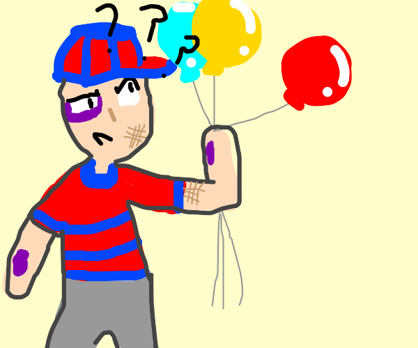 balloonman is hurt and confused