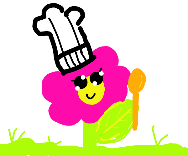 Flowey the chef
