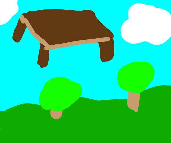 Table in the sky