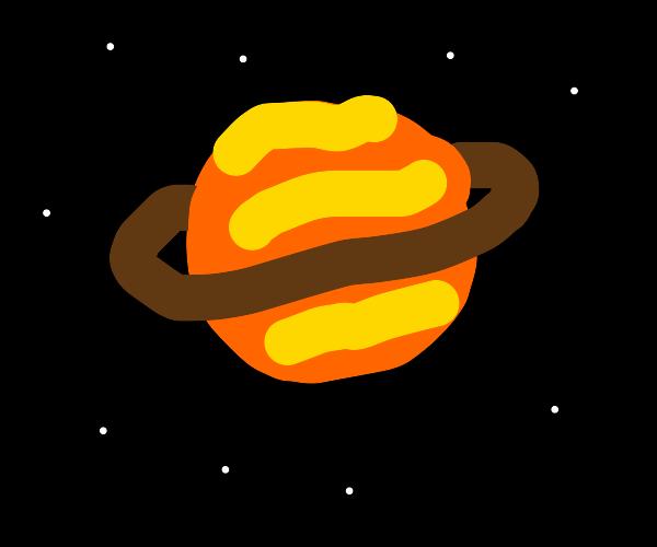 orange saturn