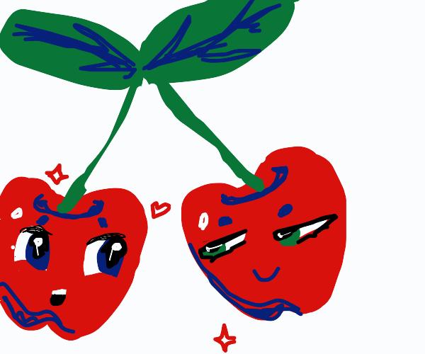 2 x cherry buddies
