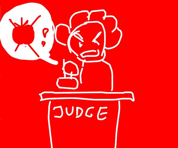 Judge bans apples
