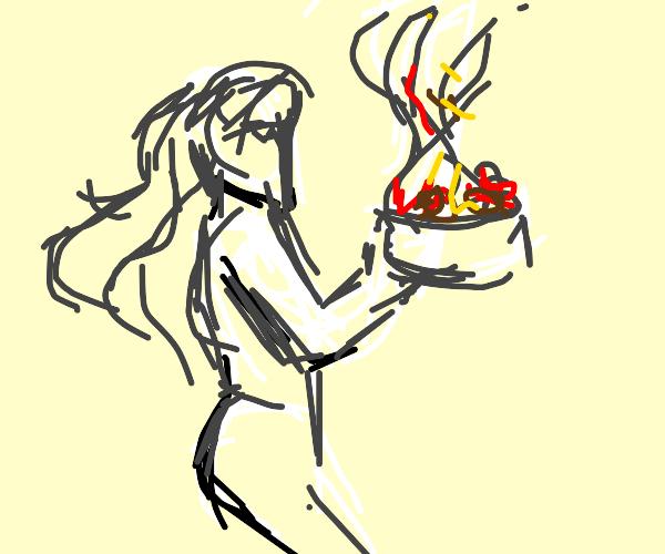 Catching Spaghetti
