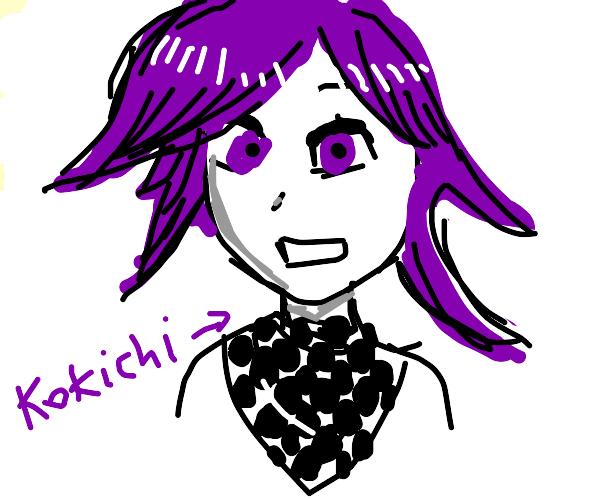 yo, kokichi is going sick with his hair