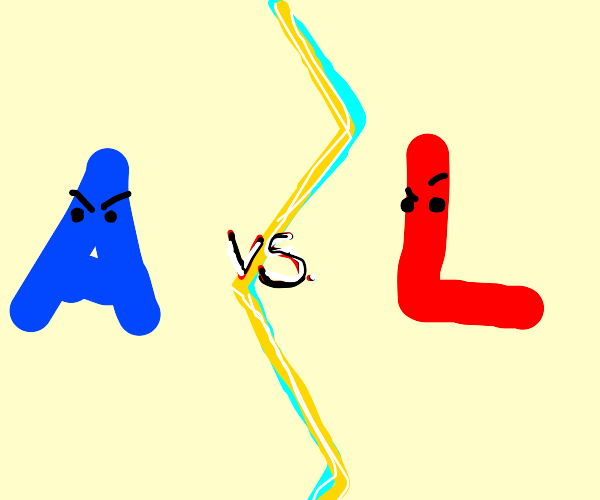 Blue A vs Red L