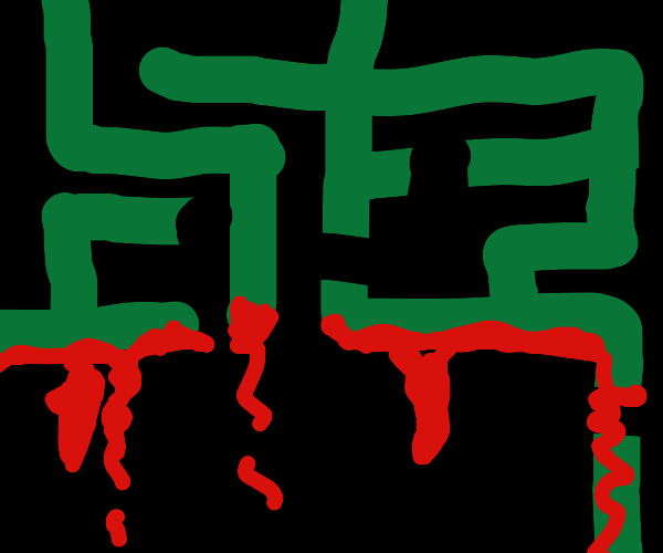 Bloody maze