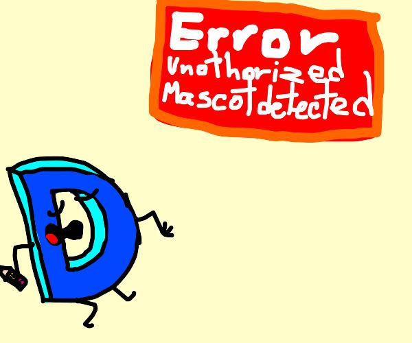 Drawception Mascot is an error