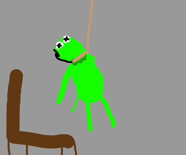 Kermitting suicide