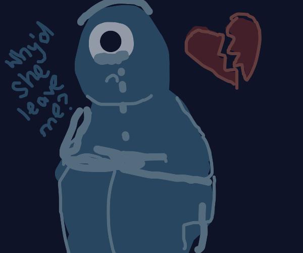 cyclops is heart broken
