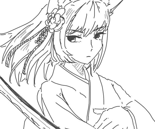 Kawaii samurai