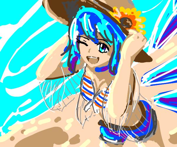 Fairy in a bikini