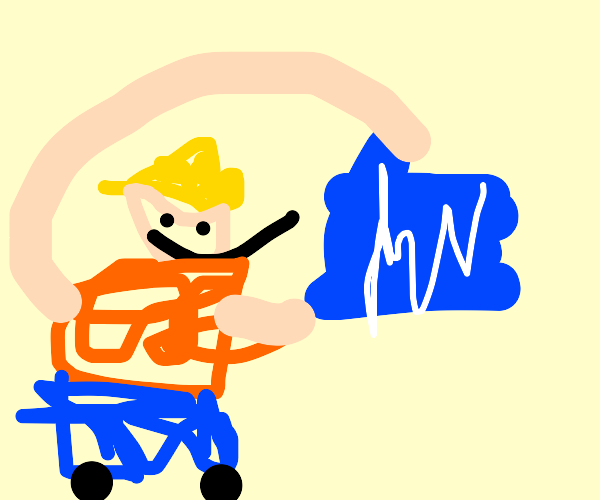 worker planning a house