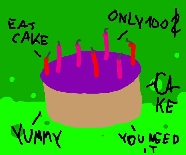 Please help I really want cake