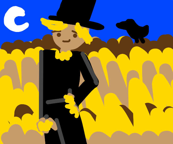 Formal scarecrow