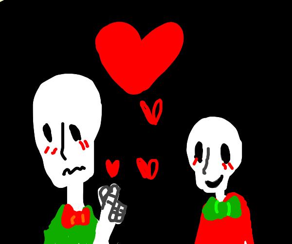 Skeletons in love