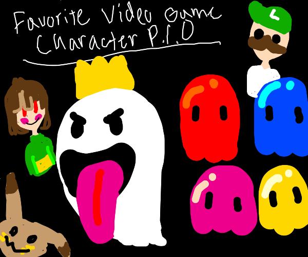 Favorite Video Game Character PIO