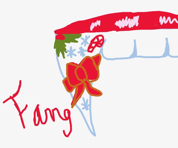 Christmas fang
