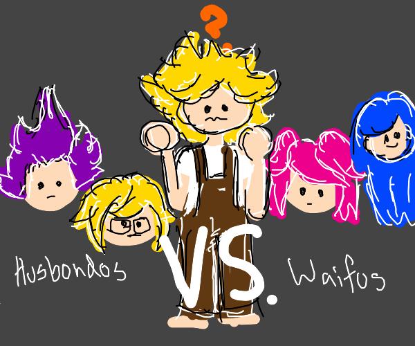 Waifus VS Husbandos