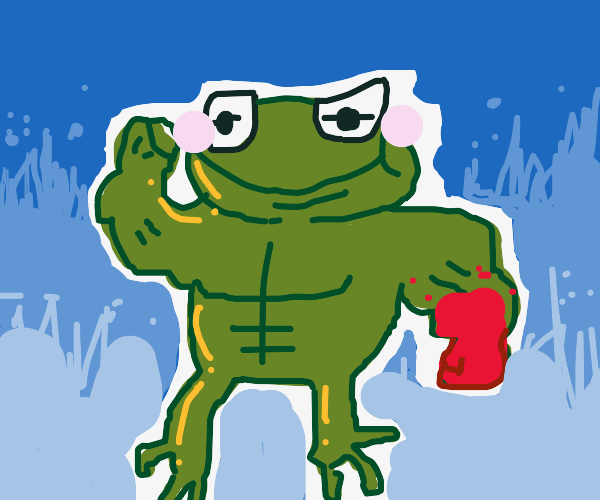 strong kermit