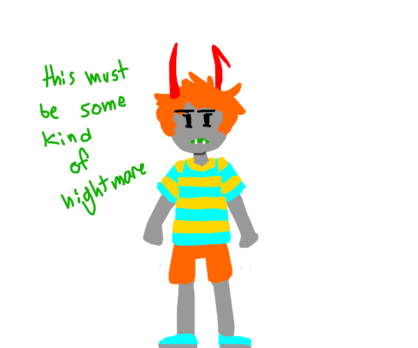 homestuck girl is Claus from Mother 3