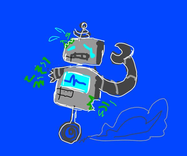 Robot is broken
