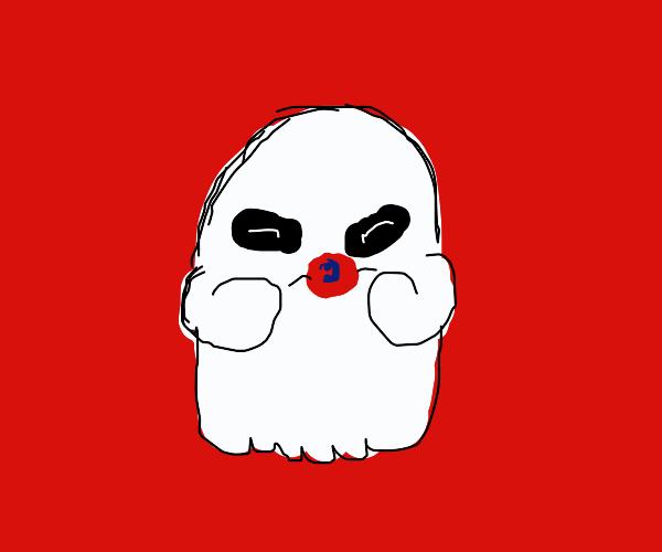 ghost needs pacifier