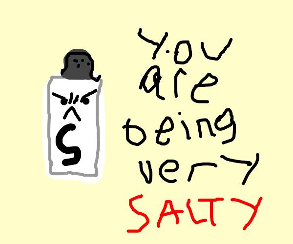 Salt hates bad puns