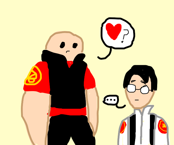 heavy tf2 ask medic for love