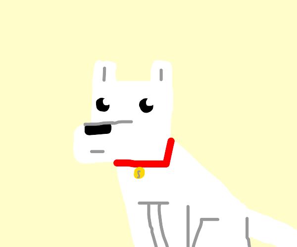 Some random minecraft dog