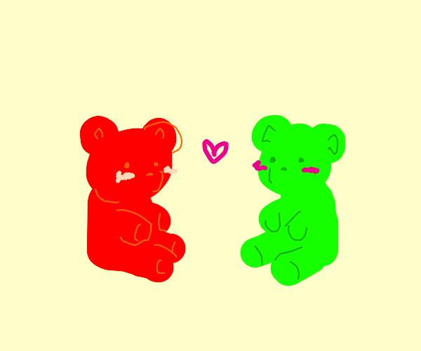 Gummy bear romance