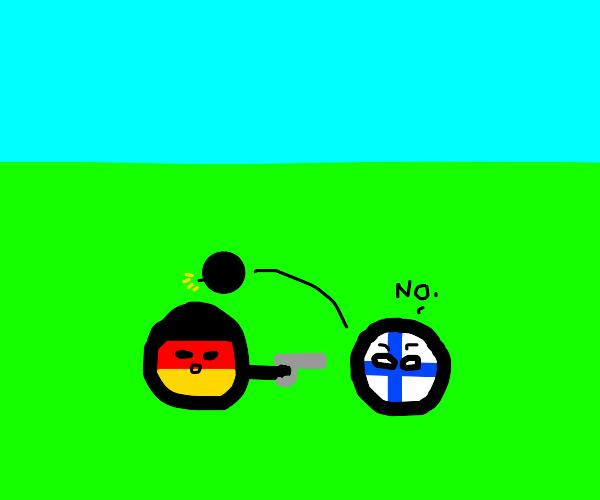 invading finland