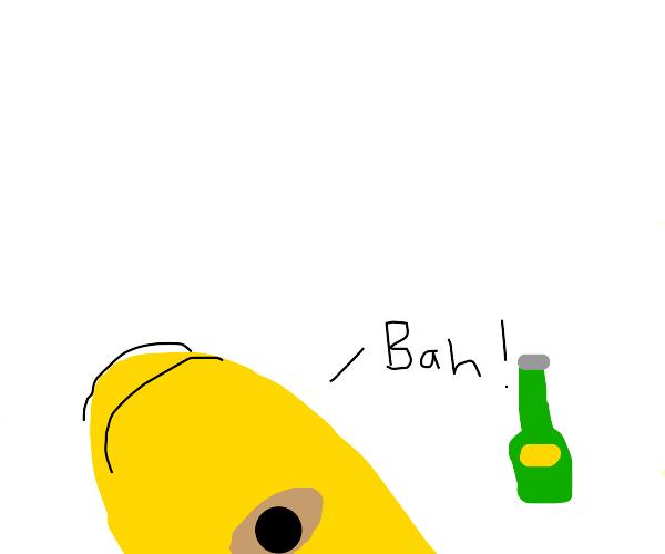 """Homer says """"bah"""""""