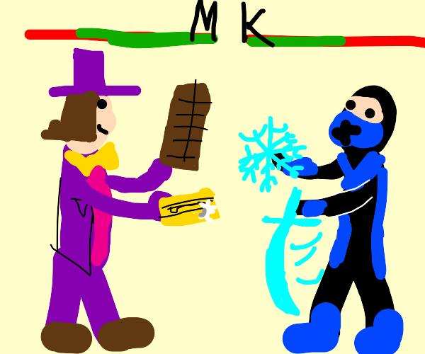 Willy Wonka in Mortal Kombat?!