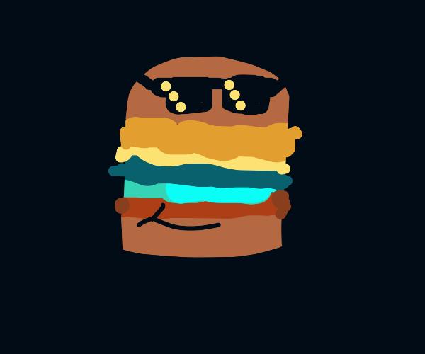 cool looking burger