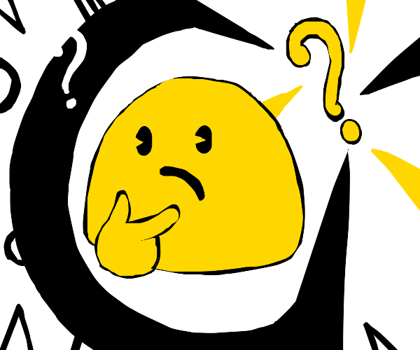 a confused blob!