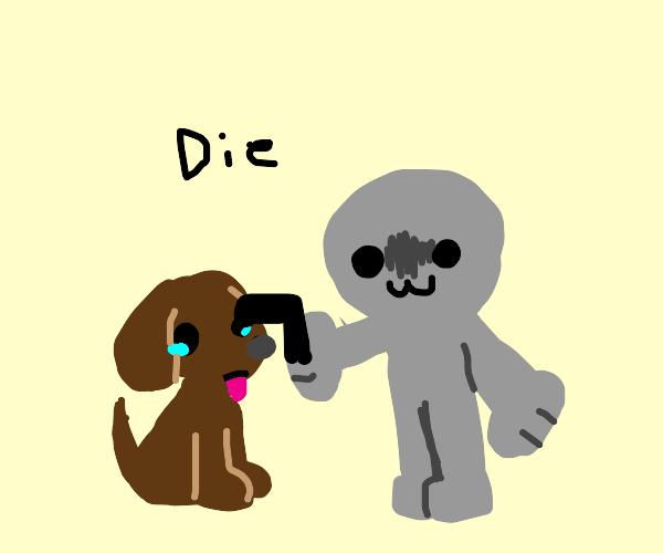Dog abuse :(