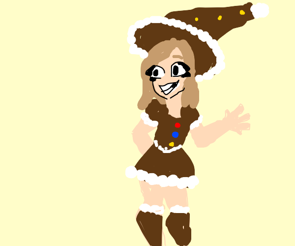 the gingerbread witch
