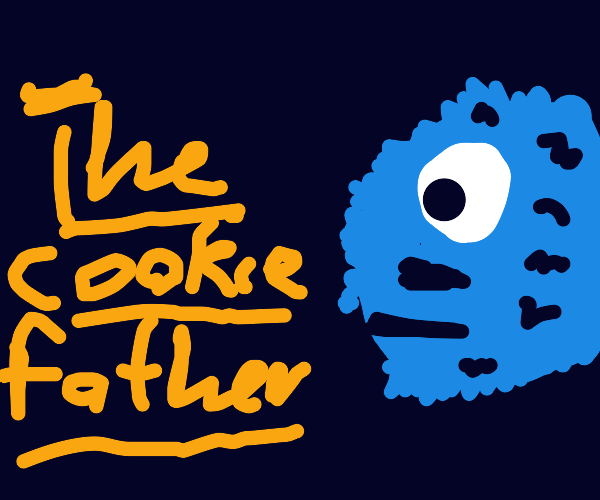 cookiemonster as the godfather