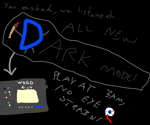 New features for drawception from YOU!