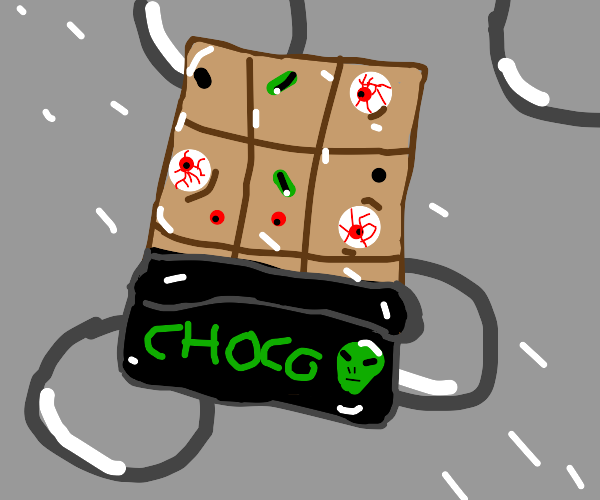 alien chocolate