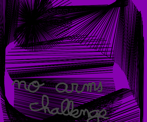 Drawing with no arms challenge