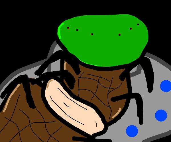 Alien Spider Worm