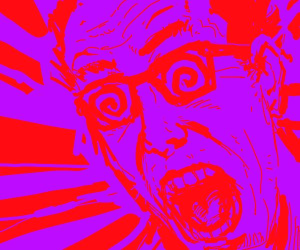 crazy glasses guy