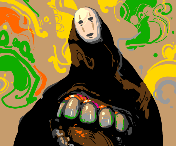 no face from spirited away is gonna eat you