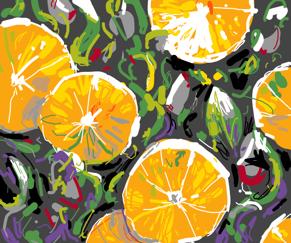 Fancy Orange salad
