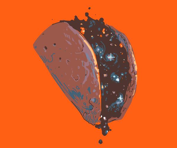 Cosmic taco